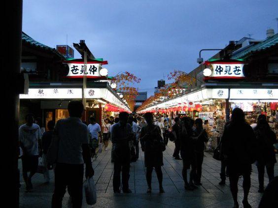 Asakusa Tokyo, Japan