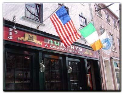 Murphy's Grand Irish Pub Alexandria VA.  I enjoyed the Irish folk musicians