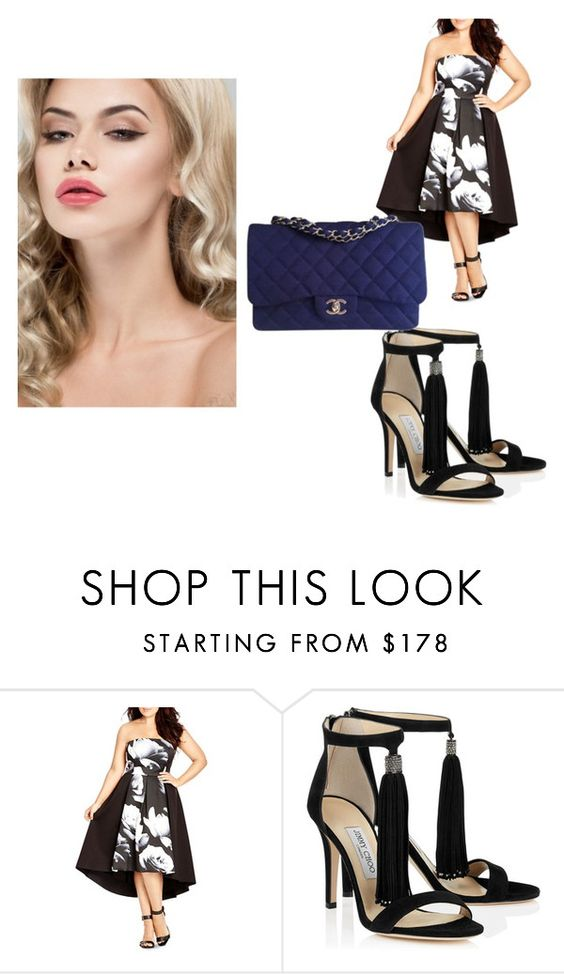 """Untitled #5"" by tallentnet ❤ liked on Polyvore featuring City Chic and Chanel"