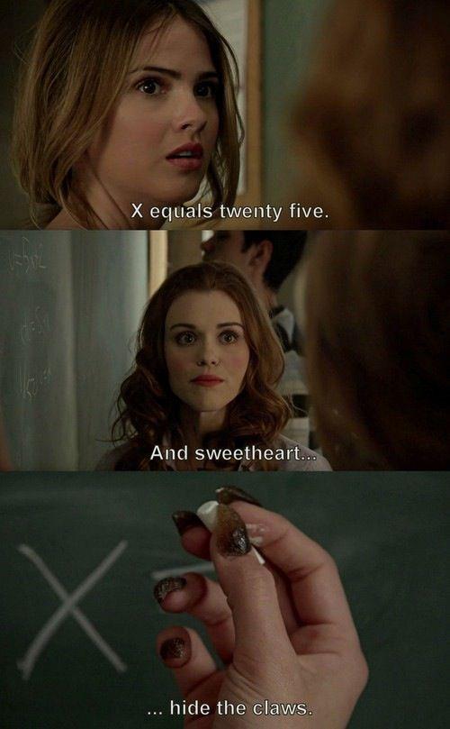 Teen Wolf - Lydia and Malia