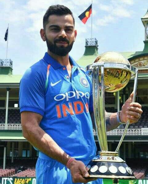 Follow Me Zeenath Nisha World Cup Trophy Virat Kohli Virat Kohli Wallpapers