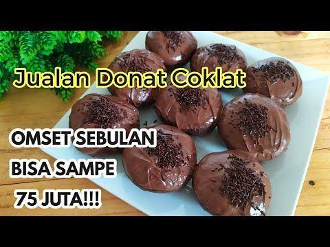 Wow Ide Jualan Terbaru Donat Coklat Viral Youtube Donat Coklat Resep