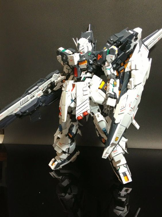 MG 1/100 nu Gundam Ver. Ka + Armed Armor DE Custom Build - Gundam Kits Collection News and Reviews