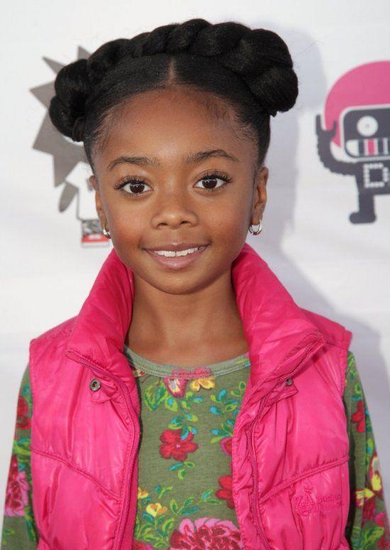 Disney Star Skai Jackson My Girls And I Love Her Girl Hairstyles Natural Hair Styles Kids Hairstyles