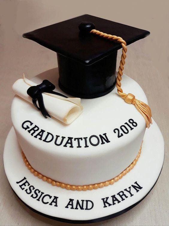 Banana Cake With Banana Hq Recipes Recipe In 2020 Graduation Cakes Graduation Party Cake College Graduation Cakes