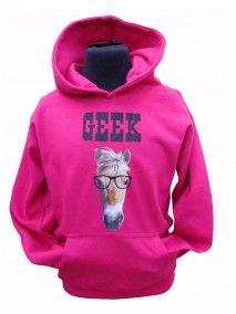 Loving our new GEEK hood from £24.99 www.horseswithattituide.co.uk