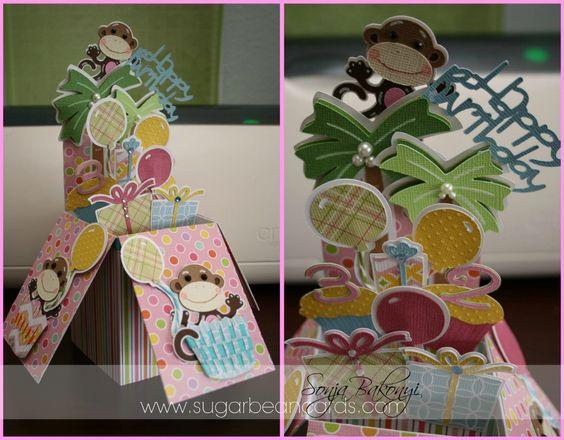 Card in a box Sugar Bean Cards