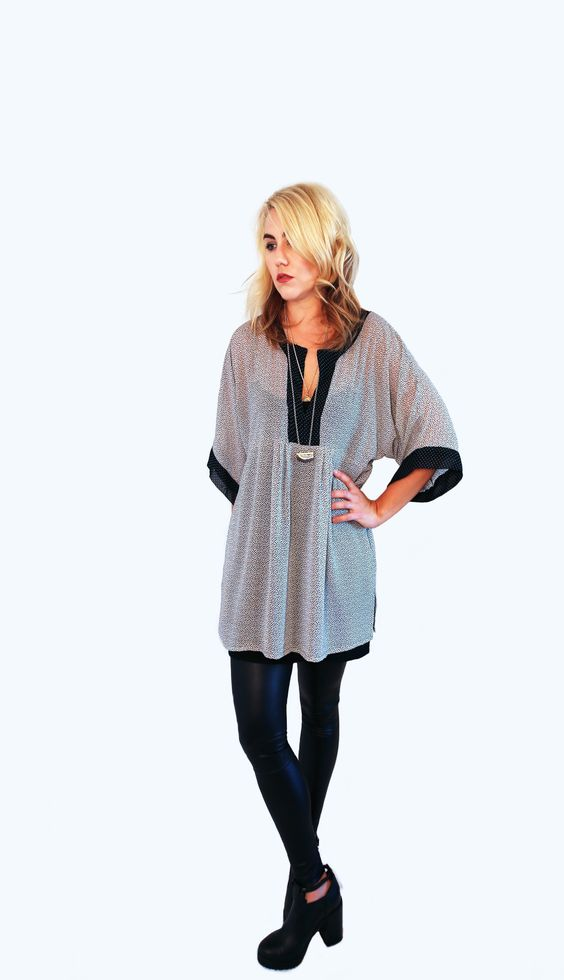 Sheer Paneled Tunic Top with Pockets http://www.aladyofthelake.com/shop-aladyofthelake/sheer-paneled-tunic-top-with-pockets