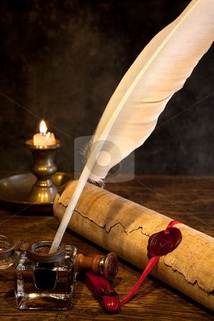 Does anyone know where I can buy cheap parchment paper for writing with a quill?