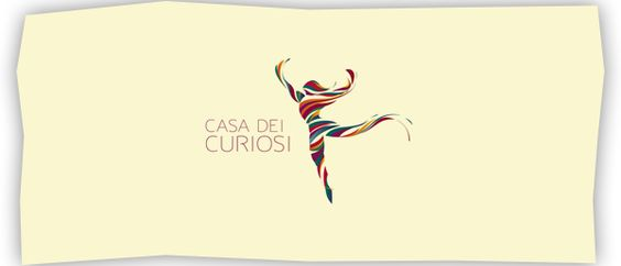 Casa dei curiosi - Logo development process by Breno Bitencourt, via Behance