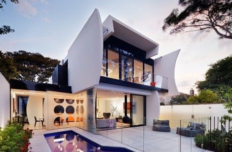 Robert Puksand's home of shapes and shadows   Australian Design Review