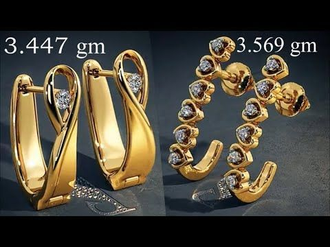 Gold Hoops Earrings Designs With Weight 2018 Stylish Hoops Earring Design Collection Gold Jewelry Fashion Antique Gold Jewelry Indian Buy Jewellery Online