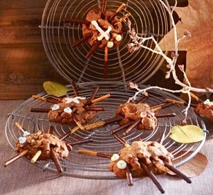 Spinnen im Netz | Recipe | Originals, Backen and Halloween