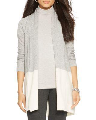 Lauren Ralph Lauren Color Block Cashmere Cardigan - Bloomingdale's Exclusive | Bloomingdale's