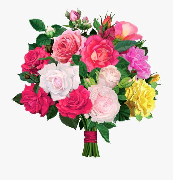 12 Flower Bouquet Clipart No Background Flower Pots Flower Bouquet Png Flower Pot Garden