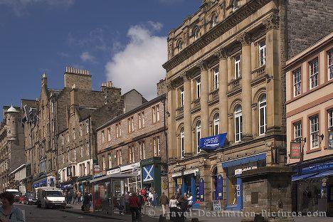 The Royal Mile in Edinburgh, Scotland. Walked it many times.
