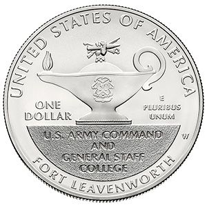 No Longer Available - The 2013 5-Star Generals Commemorative Uncirculated Silver Dollar – the perfect gift for the history buff in your life!
