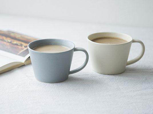Sakuzan Sara コーヒーカップ グレー スタイルストア コーヒーカップ コーヒー カップ