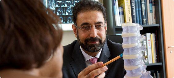 Avicenna Klinik in Berlin - spezialisiert auf Wirbelsäulen- und Gelenkserkrankungen
