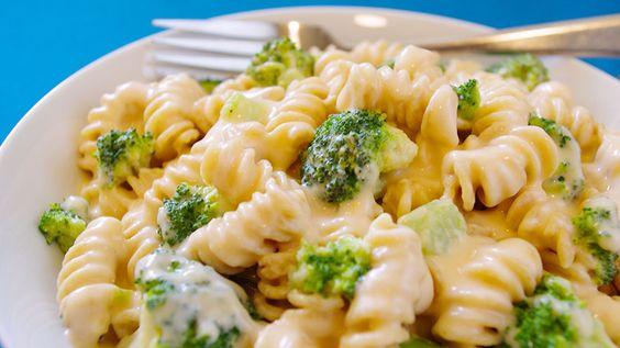 Une recette savoureuse de Walmart.ca : Rotini au fromage et au brocoli