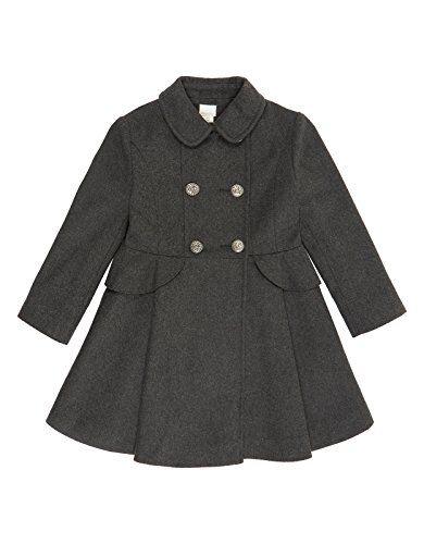 Monsoon Girls Ally Coat Size 3-4 Years Grey Monsoon http://www