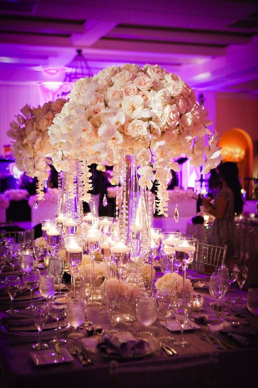 Centerpieces and Reception