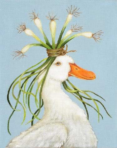 Melissa Shirley Designs | Hand Painted Needlepoint | Miranda