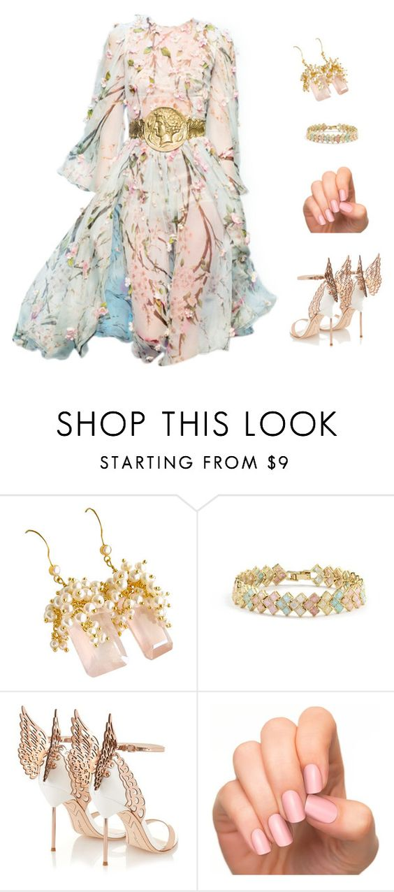"""""""Untitled #1583"""" by hammy-cute-cute ❤ liked on Polyvore featuring Dolce&Gabbana, Sophia Webster and Incoco"""