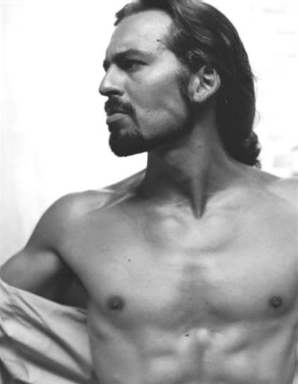 Oded Fehr - loved this guy in the Mummy movies!! Love him in Covert Affairs, but he needs to grow his hair out. ;-*