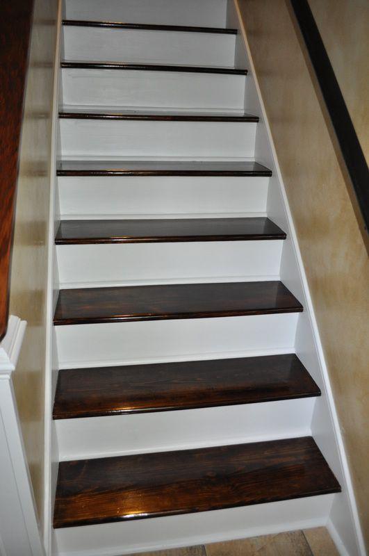 Staircase Remodel Great Tutorial Diy Pinterest