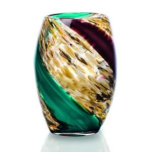 Newgrange Living - Pillar - Beautiful coloured glass vase.