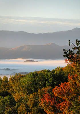 The Great Smoky Mountians