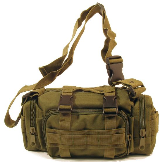 TravTac Small Tactical MOLLE Pouch