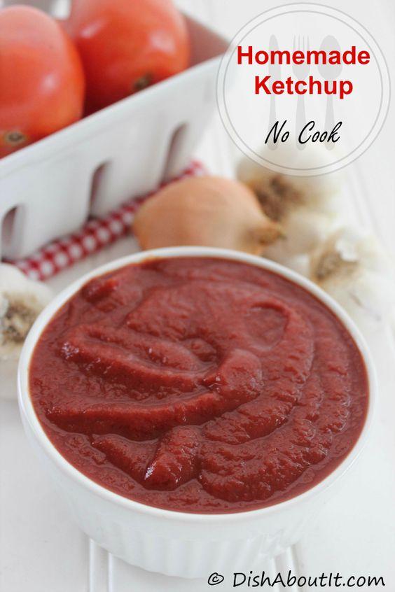 Homemade ketchup, Homemade ketchup recipes and Ketchup on Pinterest