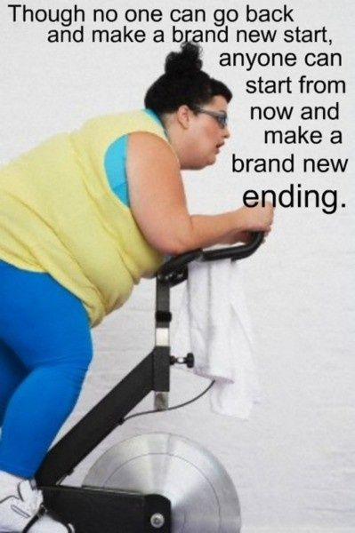 I love this! I feel like there is a lot of judgement towards people who are overweight, but how I see it.. as long as they are TRYING to be healthier, I have no reason to look at them any differently than I look at myself. We all start at different weights and sizes; it's the process that I respect <3