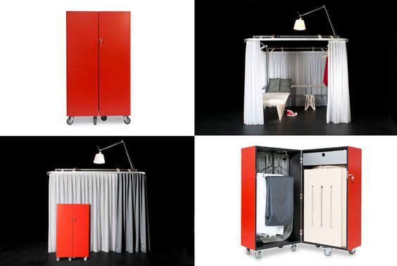 mobile hotel room by Antonio Scarponi & Roberto Deluca