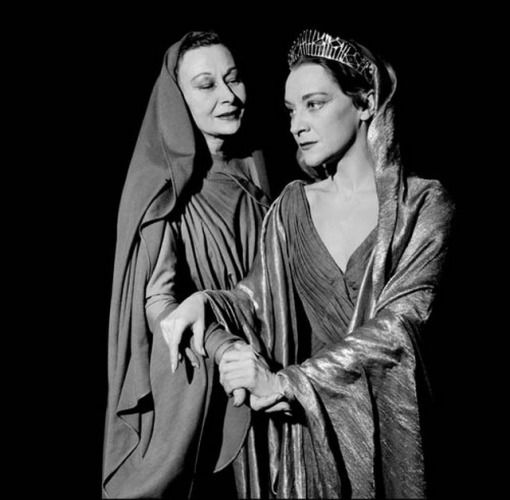 Oenone & Phèdre (Lucienne Le Marchand and Maria Casarès, 1958)