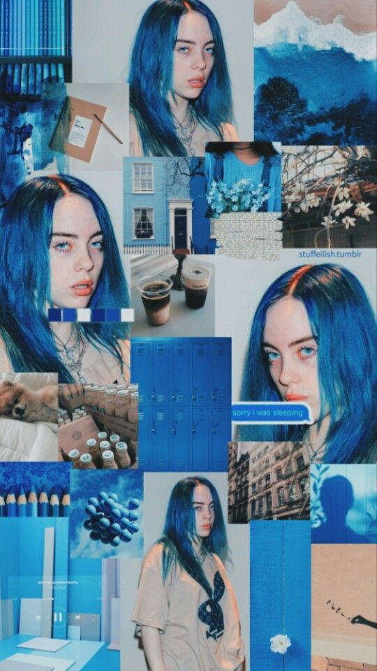 Billie Eilish Wallpaper Billie Billie Eilish Blue Aesthetic