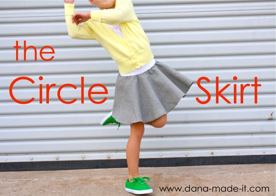 TUTORIAL: the Circle Skirt - both kids and women, this is the only tutorial that makes sense to me