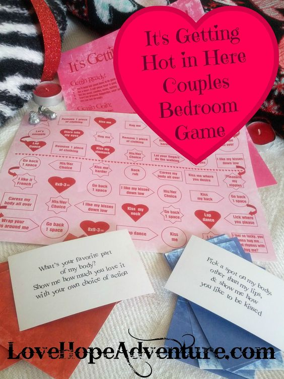 sexy bedroom game for couples. Have fun with your spouse with this Hot game.