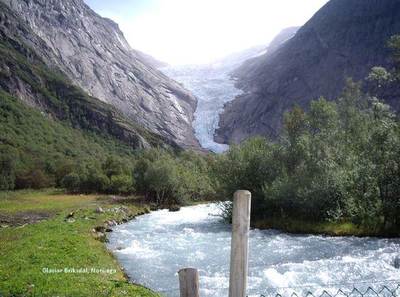 Noruega, Glaciar Briksdal