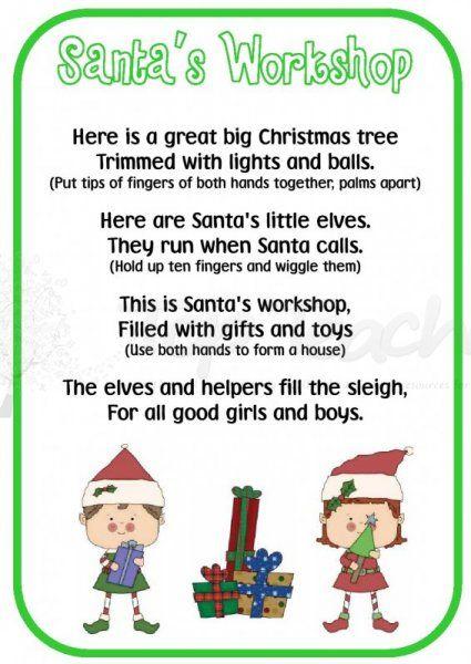 Christmas Poems For Preschoolers 3