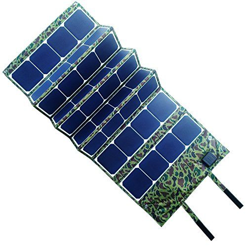120w Folding Solar Panel Charger Pack With Dualport 5v Usb 918v Dc For Computer Cell Phone Camping Camoufl Solar Panel Charger Solar Panels Cell Phone Charger