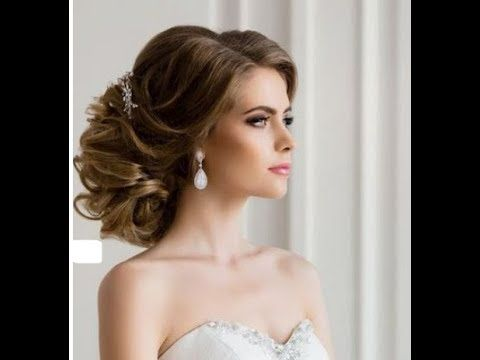 اجمل تسريحات الشعر للعروس 2019 Youtube Hair Styles One Shoulder Wedding Dress Hair