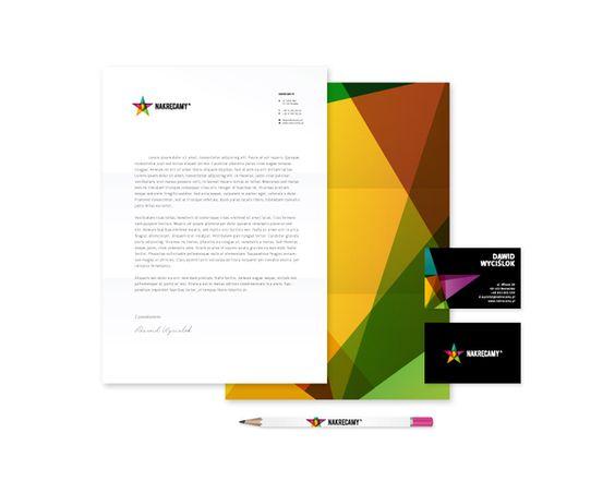 VI: Graphic Design, Behance, Design Triangles, Corporate Identity, Nakrecamy Pl, Star, 04 Graphics, Branding Corporate, Branding Identity