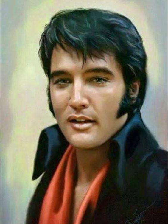 Elvis con pañuelo
