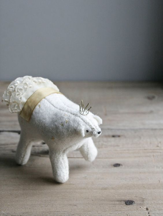 polar bear, everyeskimo on etsy