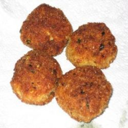 Chicken Patty - Quick and Easy Recipe A thrifty and tasty way of using up chicken or turkey leftovers
