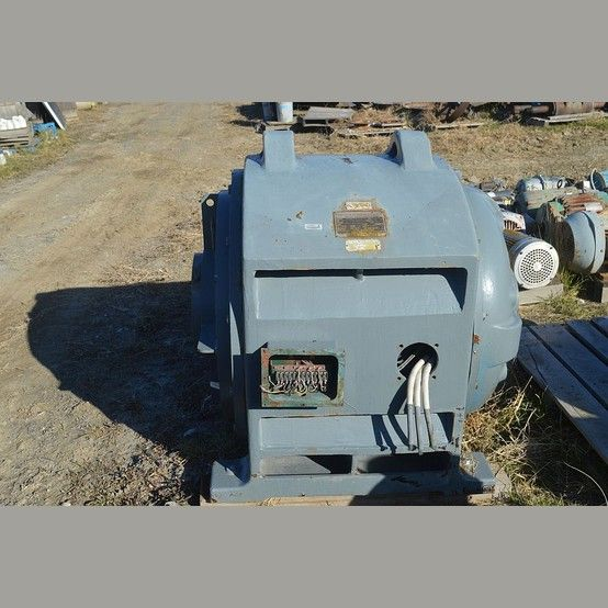 Canadian General Electric 350 Hp Motor General Electric Electricity Motor