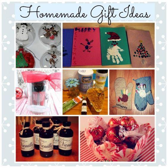 10 Homemade Gift Ideas for Christmas